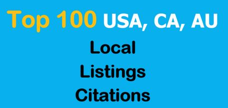 I will Submit Business Details ON 55 TOP USA/UK/CA/AU Citation Sites
