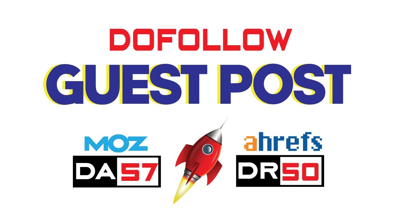 Guest Post on Premium Blog DA65,  DR40 - DoFollow Link