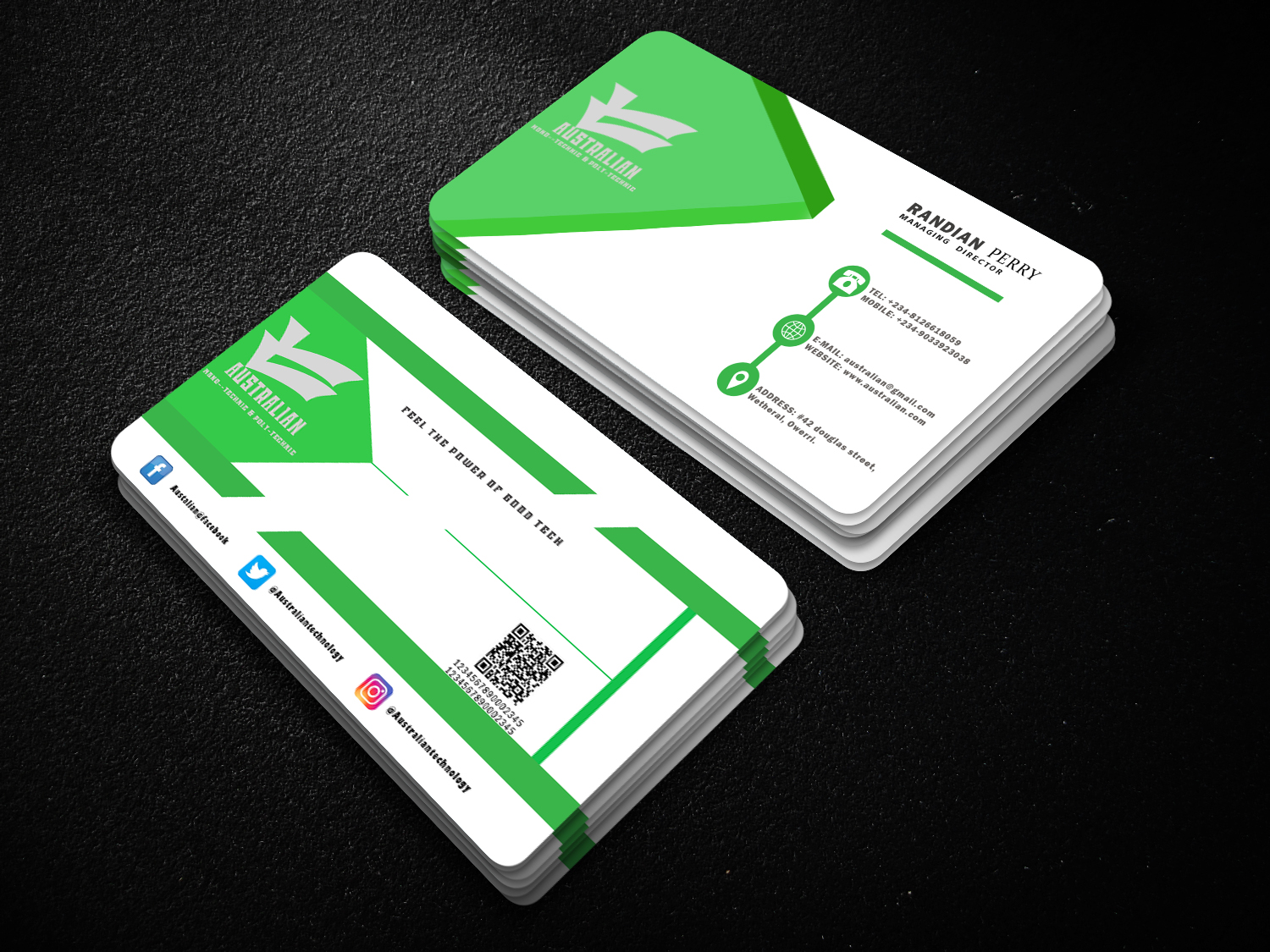 I will create an attractive Business card & post card