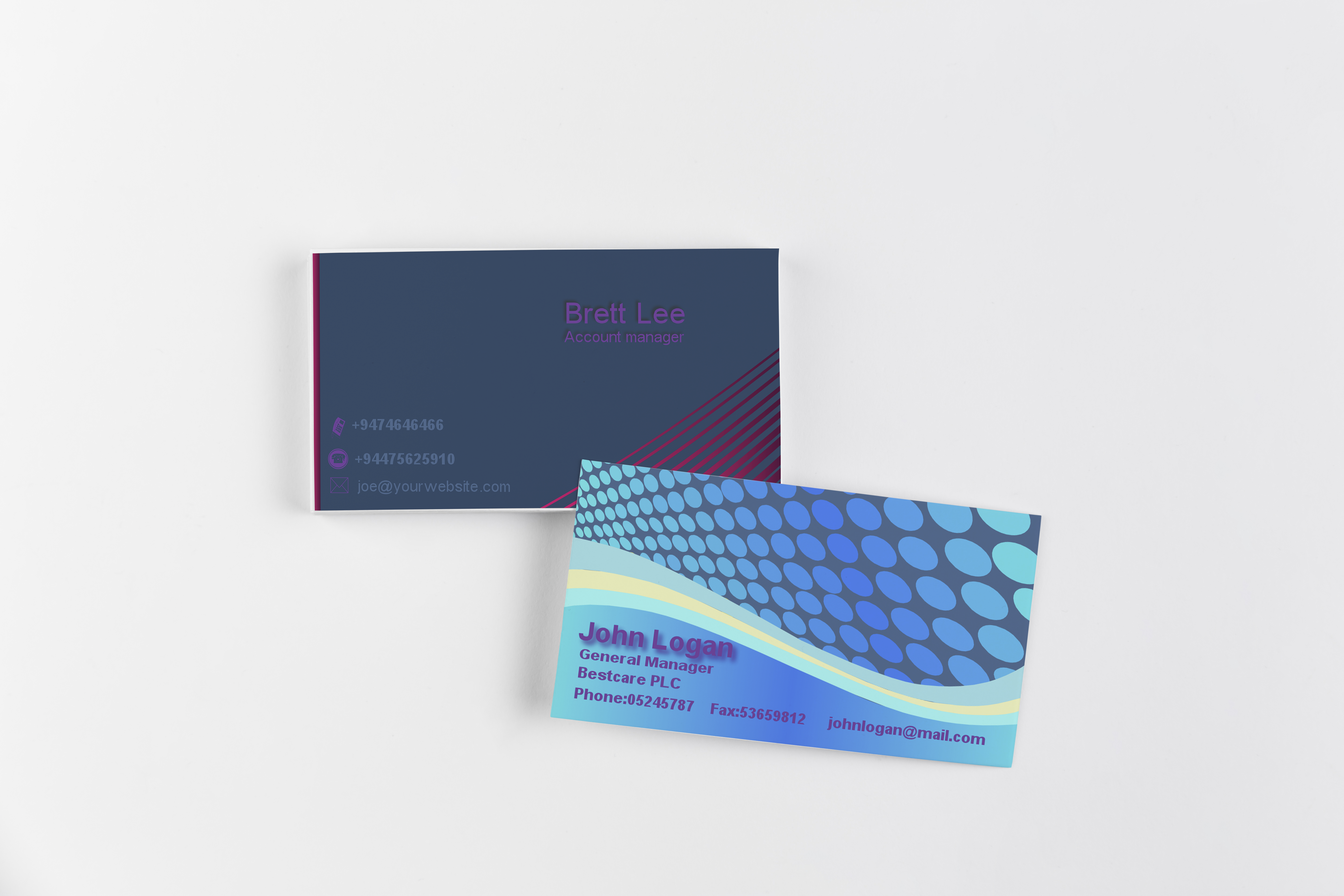 I will create professional Business Card in 24Hours
