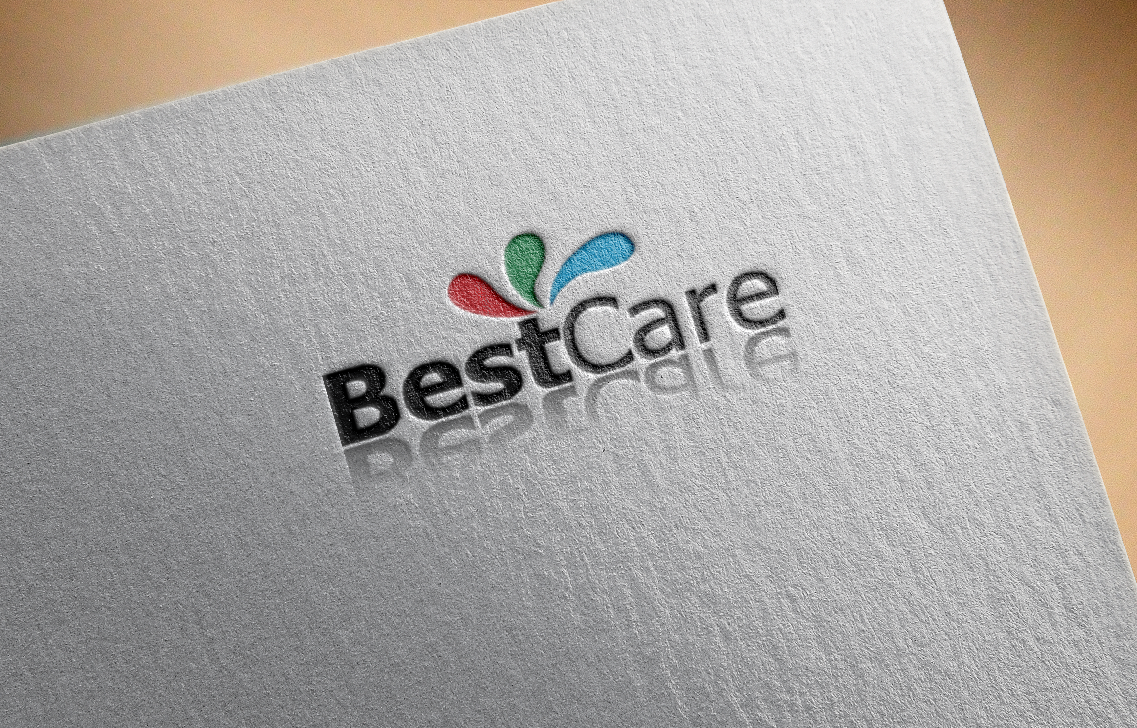 I will create modern logo with 3D mock up