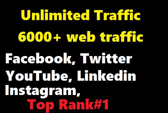 HQ Web traffic to increase Ranking at Google