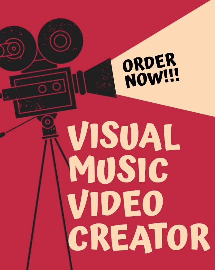 Order for High-Quality Visual Music Video for your audio