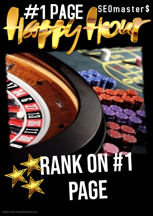 I will rank your Thailand Cambodia Indonesia Philippine C asino,  Poker website first page on google