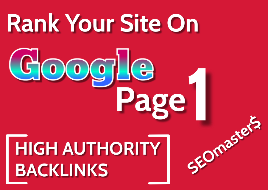 Rank Your Website With Complete Monthly SEO Package - 2021 High Authority Backlinks