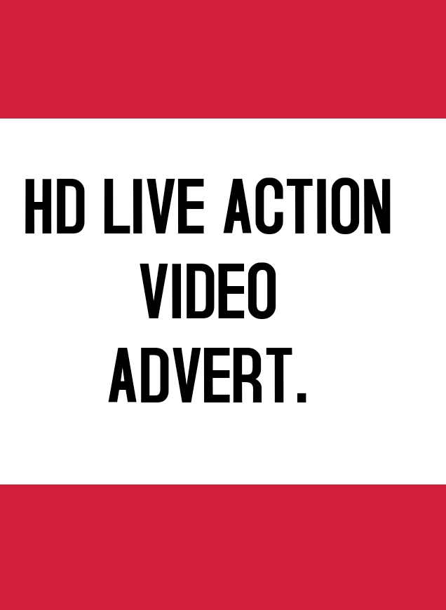 HD Live action video Advertisement for any product and services