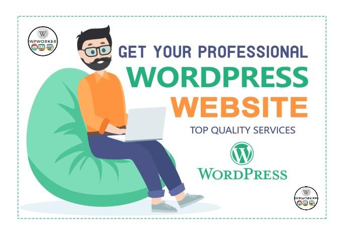 I will create a Wordpress website in 24 hours