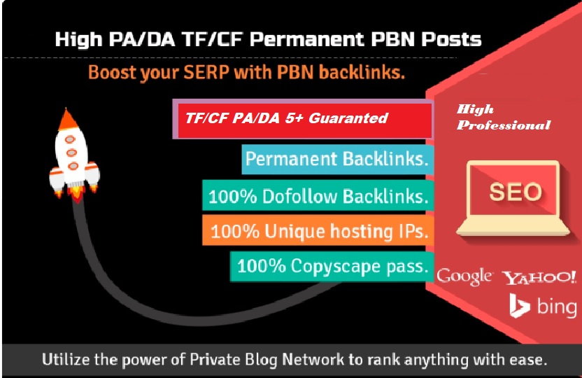100 High Quality PBN Backlinks Accepting 10 URL And 20 Keywords,  High DA 25+ to 40+
