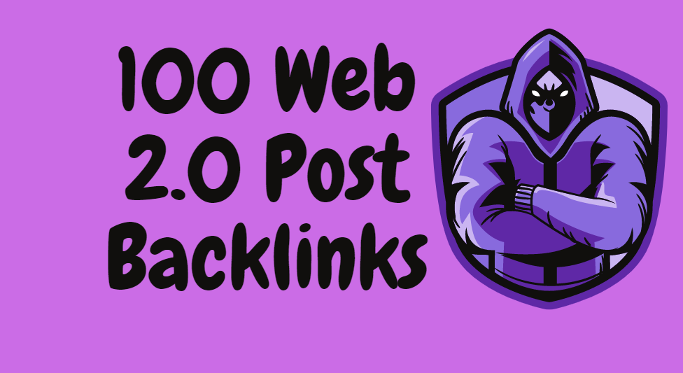 I will make 100 powerful super web 2.0 blogs post SEO backlinks