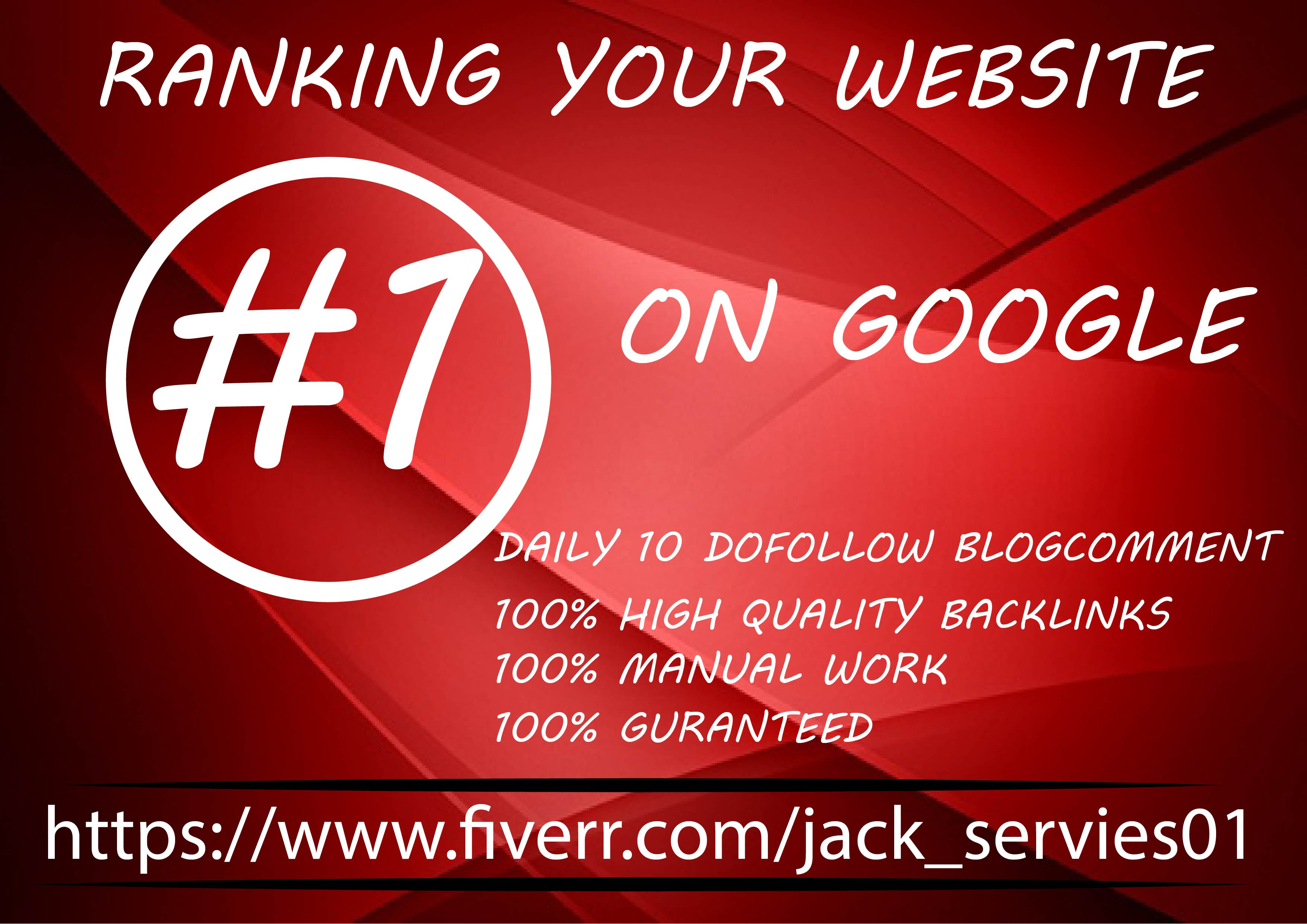 Submit 30 days drip feed SEO link building service for daily update in google no 1