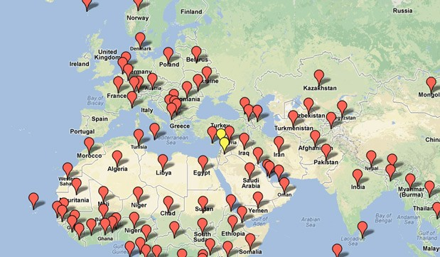 Manually location your google map ranking with 1500 local seo citation