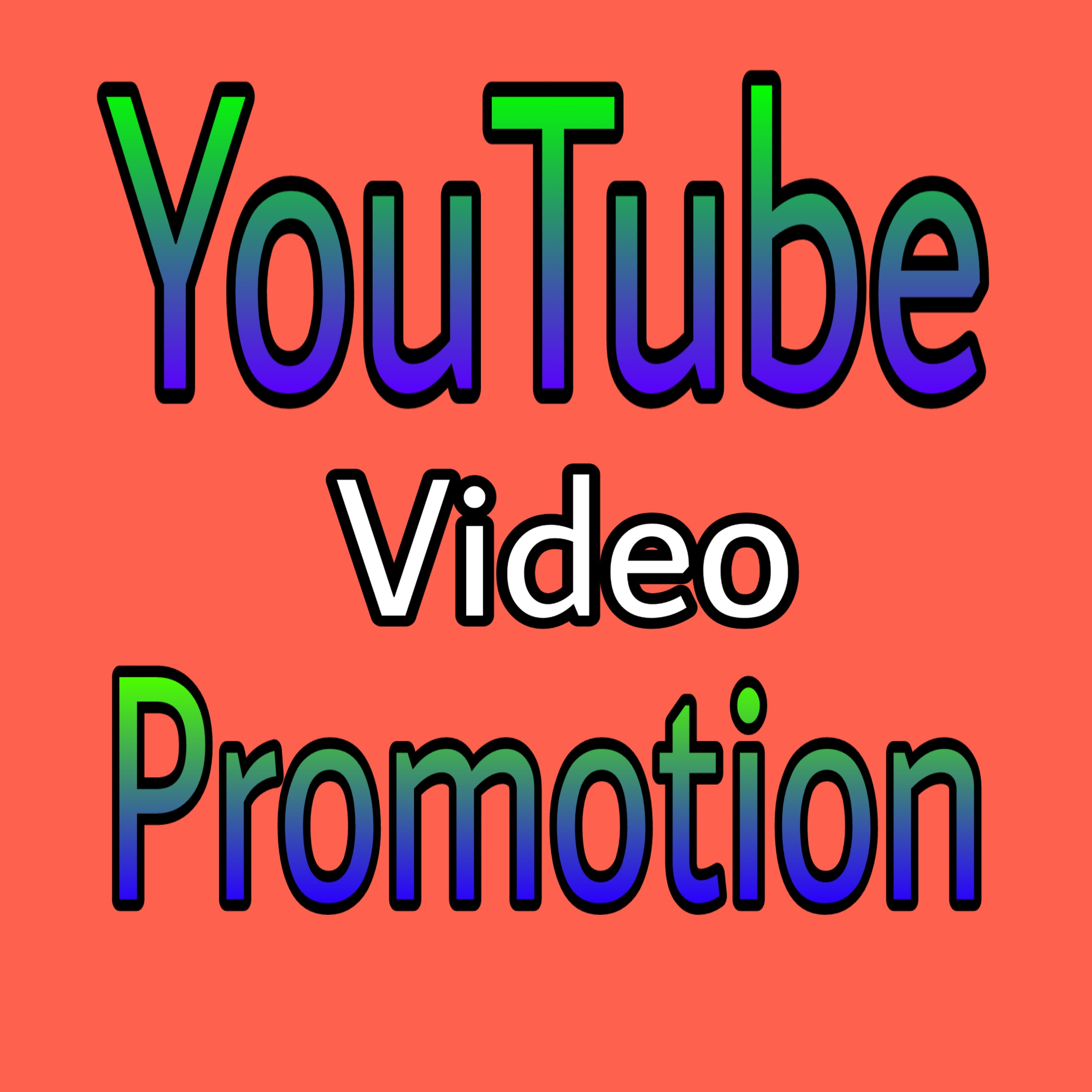 YouTube video Promotion via and Marketing