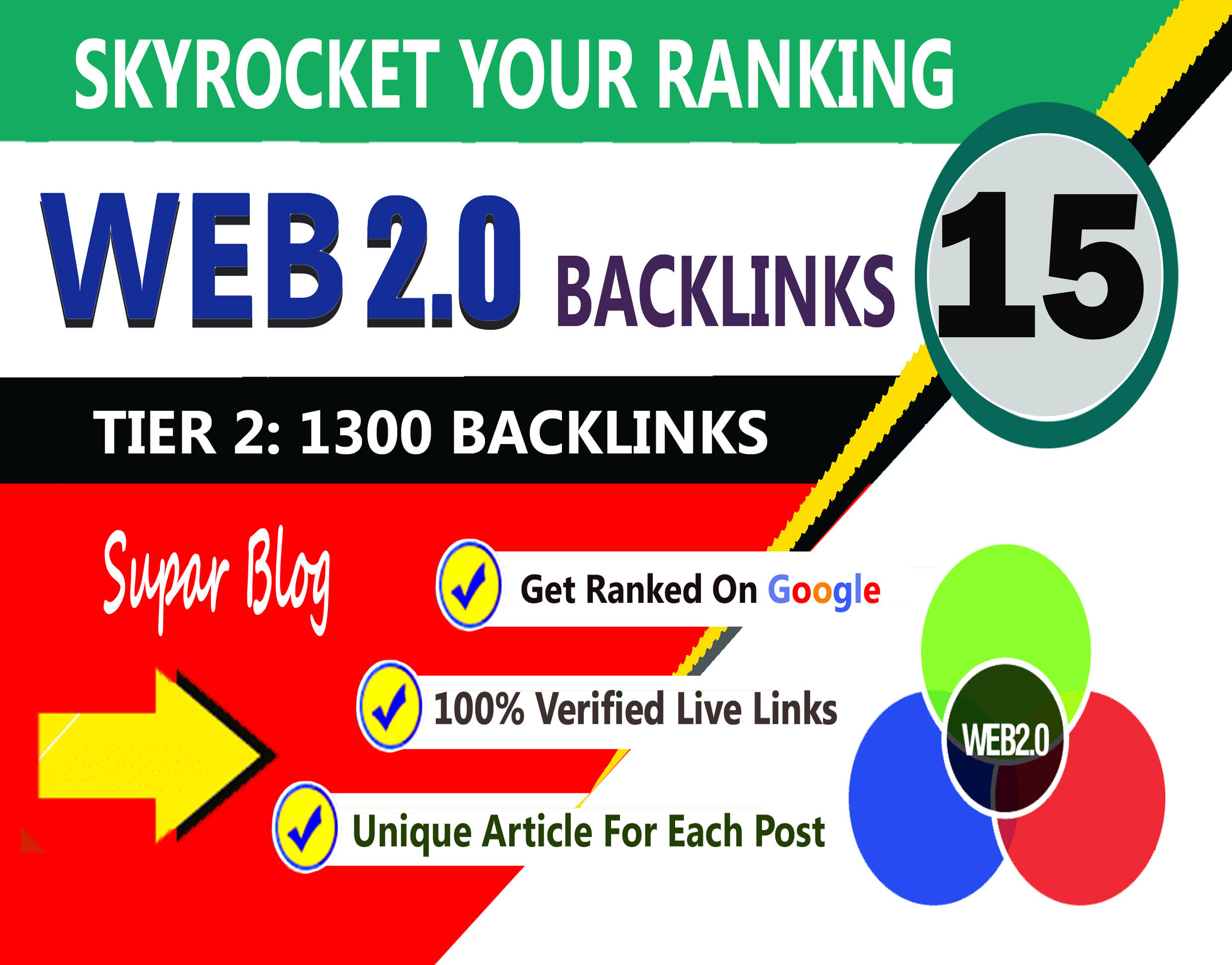 Manully Create 15+ Super Buffer Blog Web2.0 tier2 Dofollow SEO Backlinks