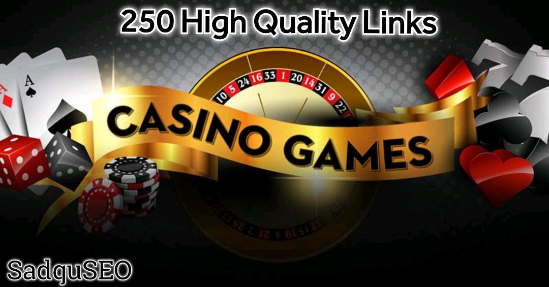 Build 250 High Quality Dofollow DA 50+ Casino,  Judi Poker,  Gambling High Quality PBN Backlinks