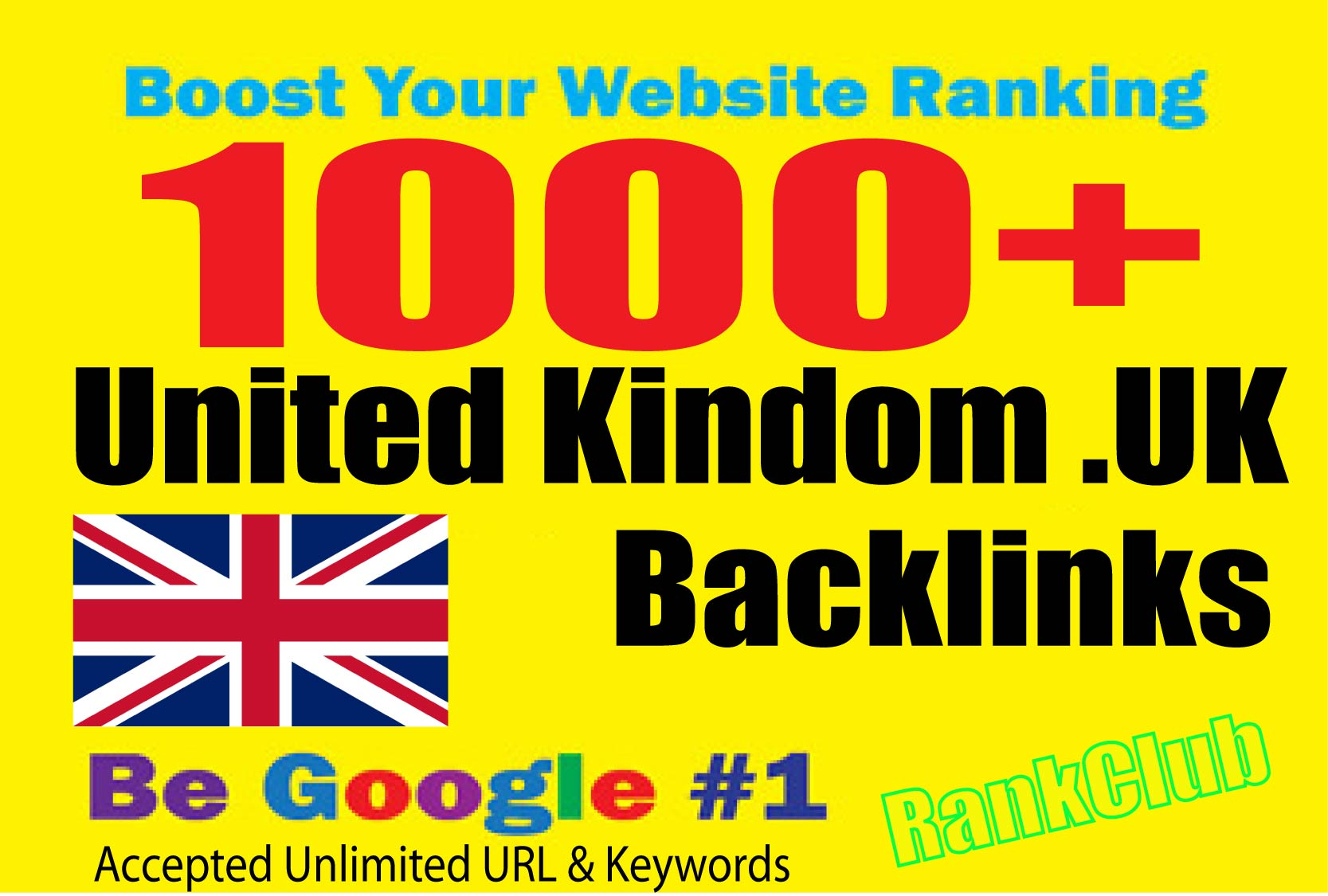 create 1000+ United Kingdom. UK Backlinks From Local UK domains