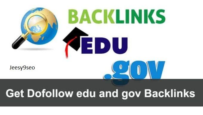 Create manual EDU-GOV Backlinks - USA Universities & College - Contextual dofollow Backlinks