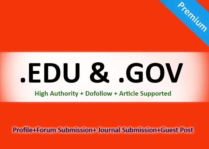 Create manual 200 high quality edu-gov pr9 seo backlinks