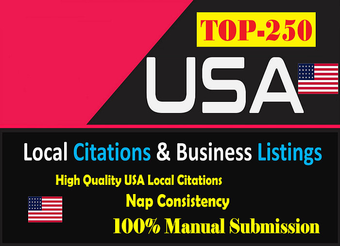 I will build 30 USA local citations and business directories
