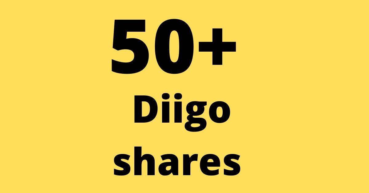Create 50 diigo share & bookmark backlinks for uour website