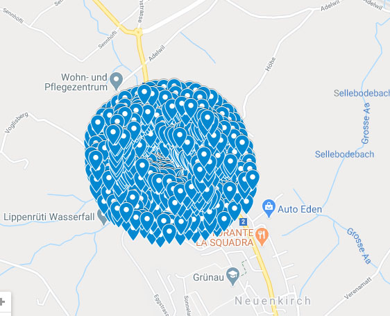 Create 1000 google point map citations local SEO