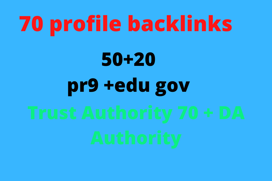 Top 70 PR10 to PR6 SEO Backlinks DA80+ With. EDU. Gov Links Boost Your Google Rank