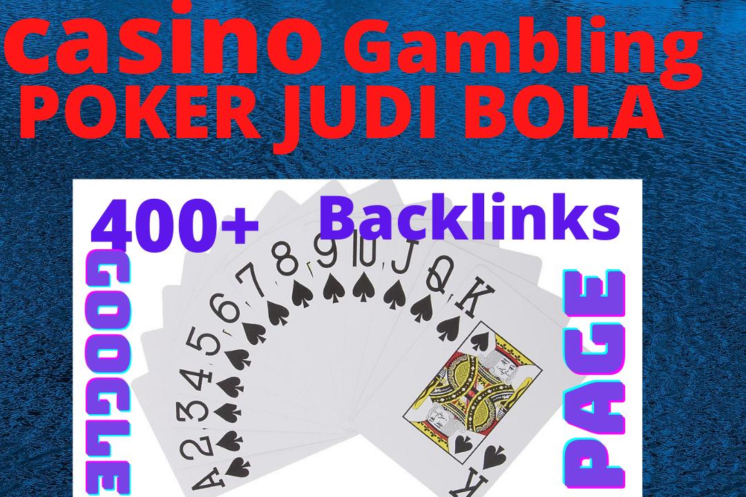 Add create 4000+ casino/gambling/poker/jodi bola HQ PBN google first page ranking backlinks