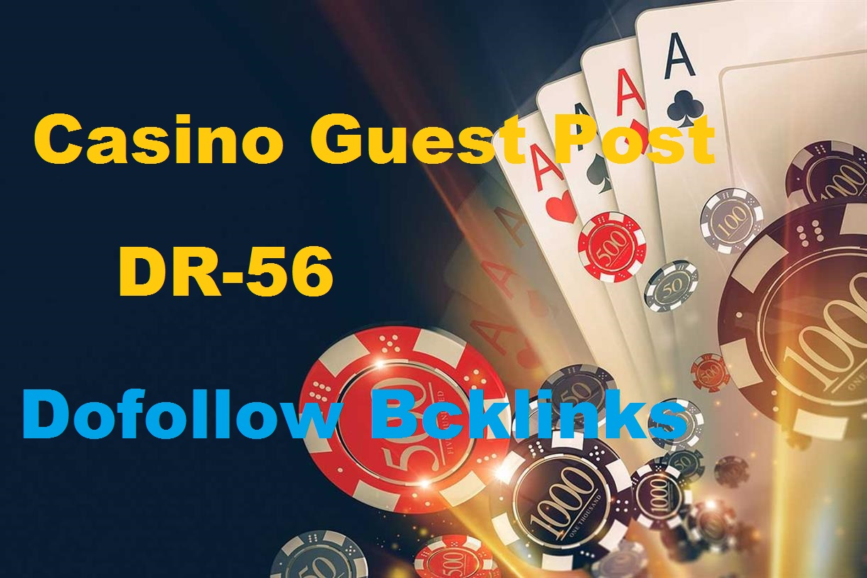 Guest Post On Casino Poker Niche Site Casinogaze. com DR65