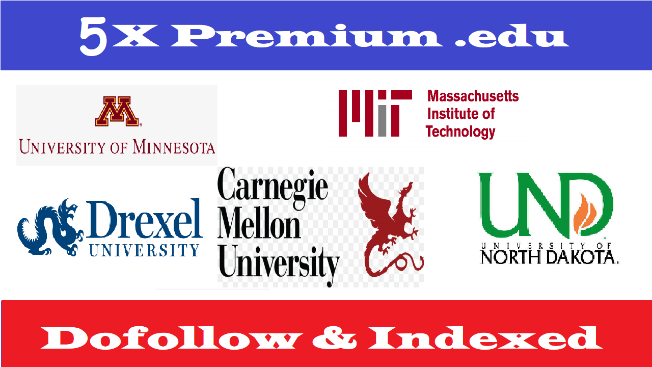 Write 5X Edu Guest Posts On Top Notch University DA70-95+