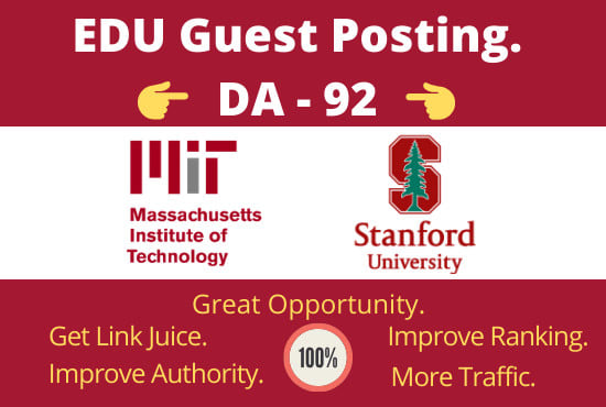 Guest Post On Stanford. edu DA93 Permanent Post