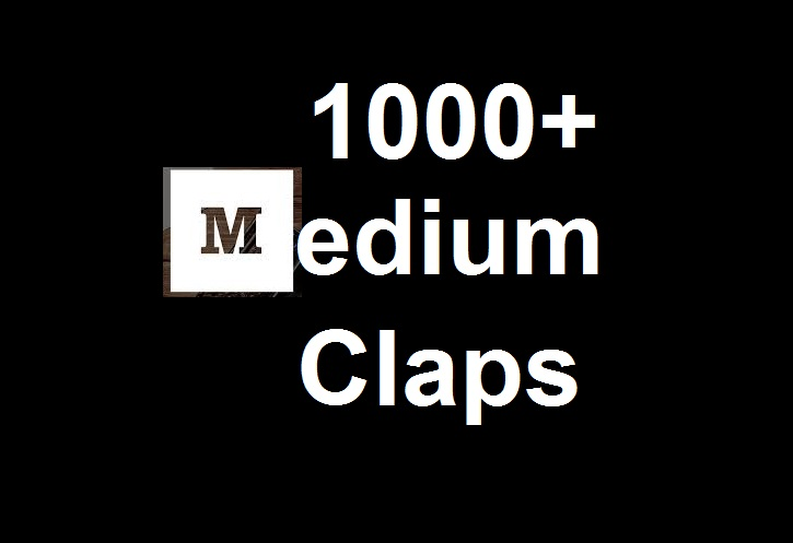Get 1000 Medium claps to your article post