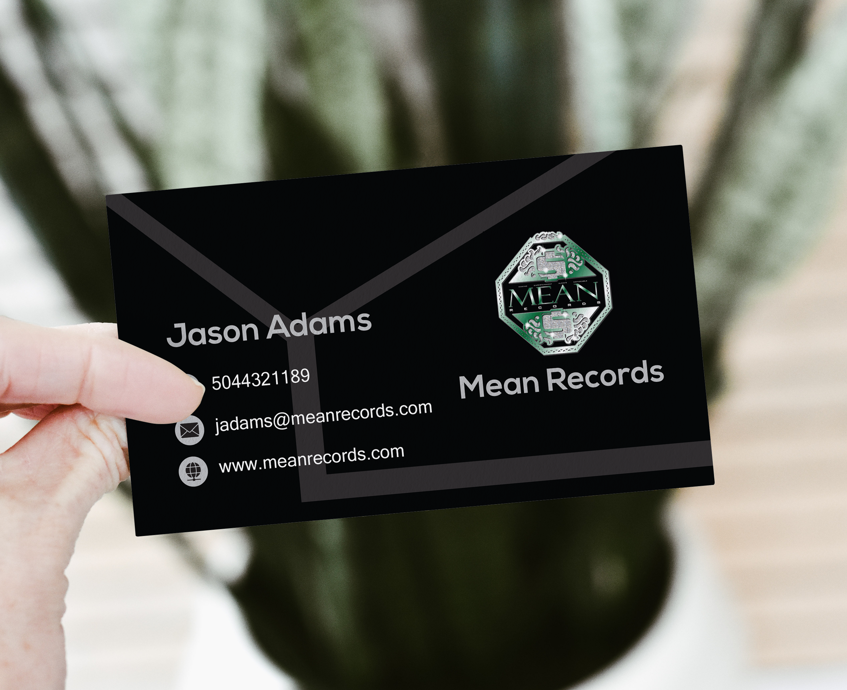 I will create an amazing and unique business card in 24 hrs