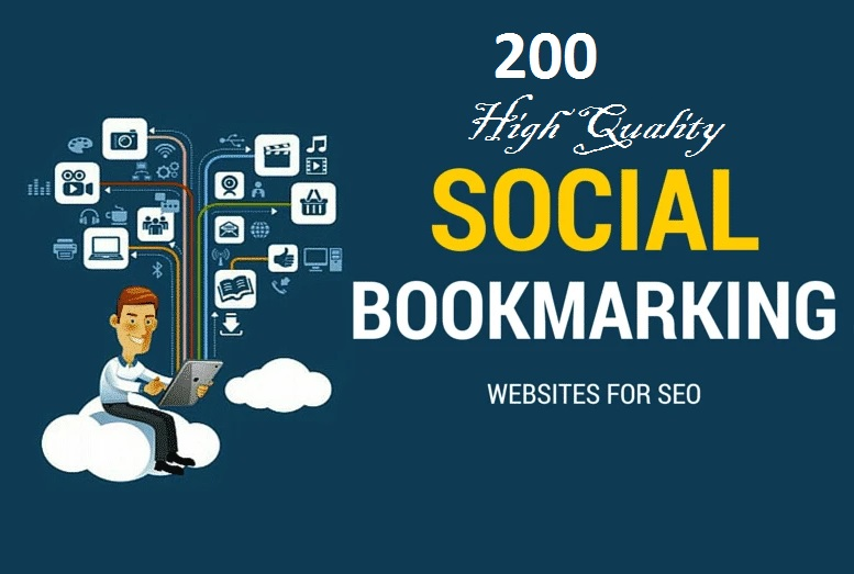 I will do 200 high quality social bookmarking sites