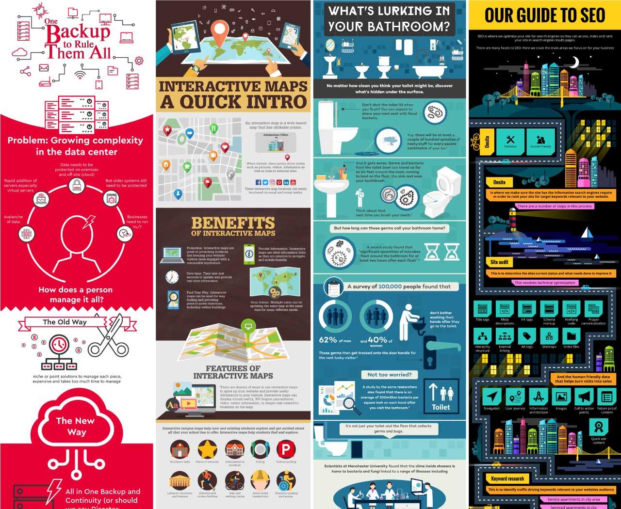 I will design creative premium infographic