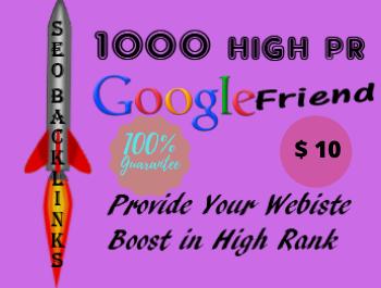 I will create 1000 do follow High PR4-PR7 Backlinks
