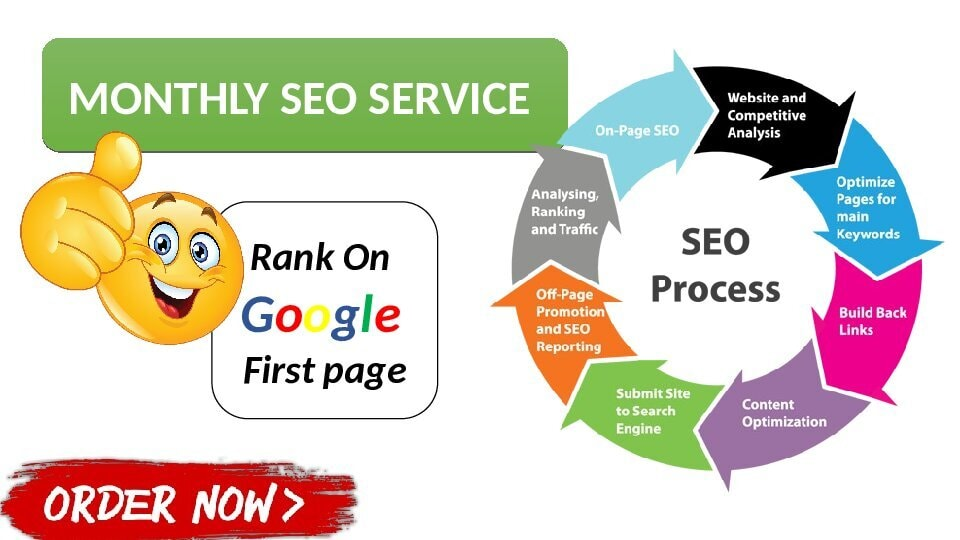 I will do monthly SEO service,  improve traffic and boost your google rankings