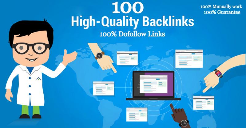 I built 100 blog comments backlinks high seo service rank on google