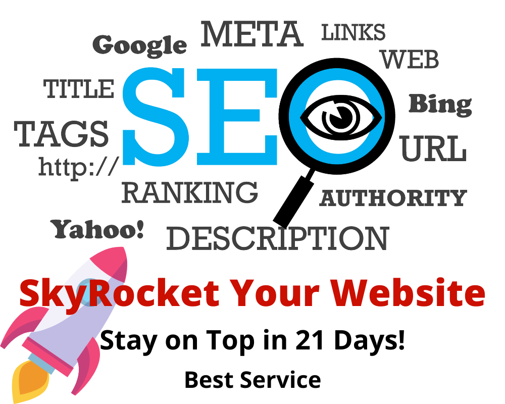 Boost Your Website - Rank Page 1 in Google Search Results in Just 21 Days