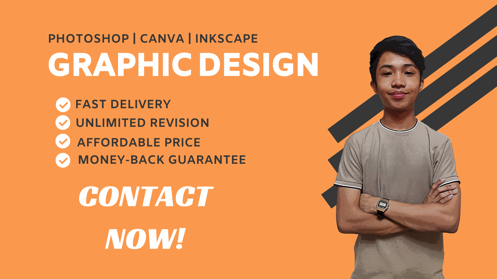 I Will Do Any Graphic Design Work in 24 Hours