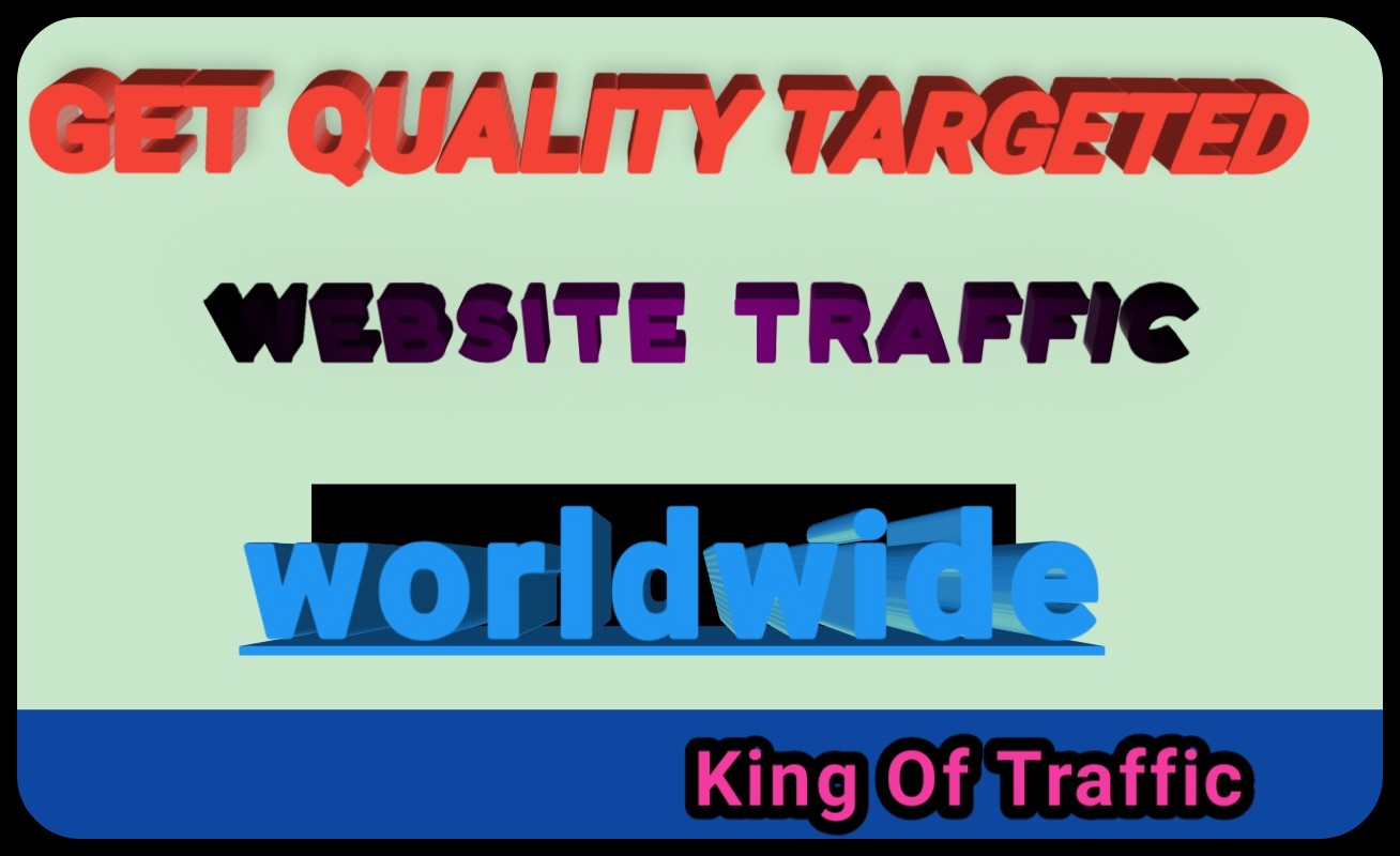 per Day 400+ worldwide Traffic to your website