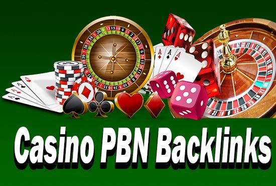 50 CASINO,  GAMBLING,  POKER related high quality pbn backlinks