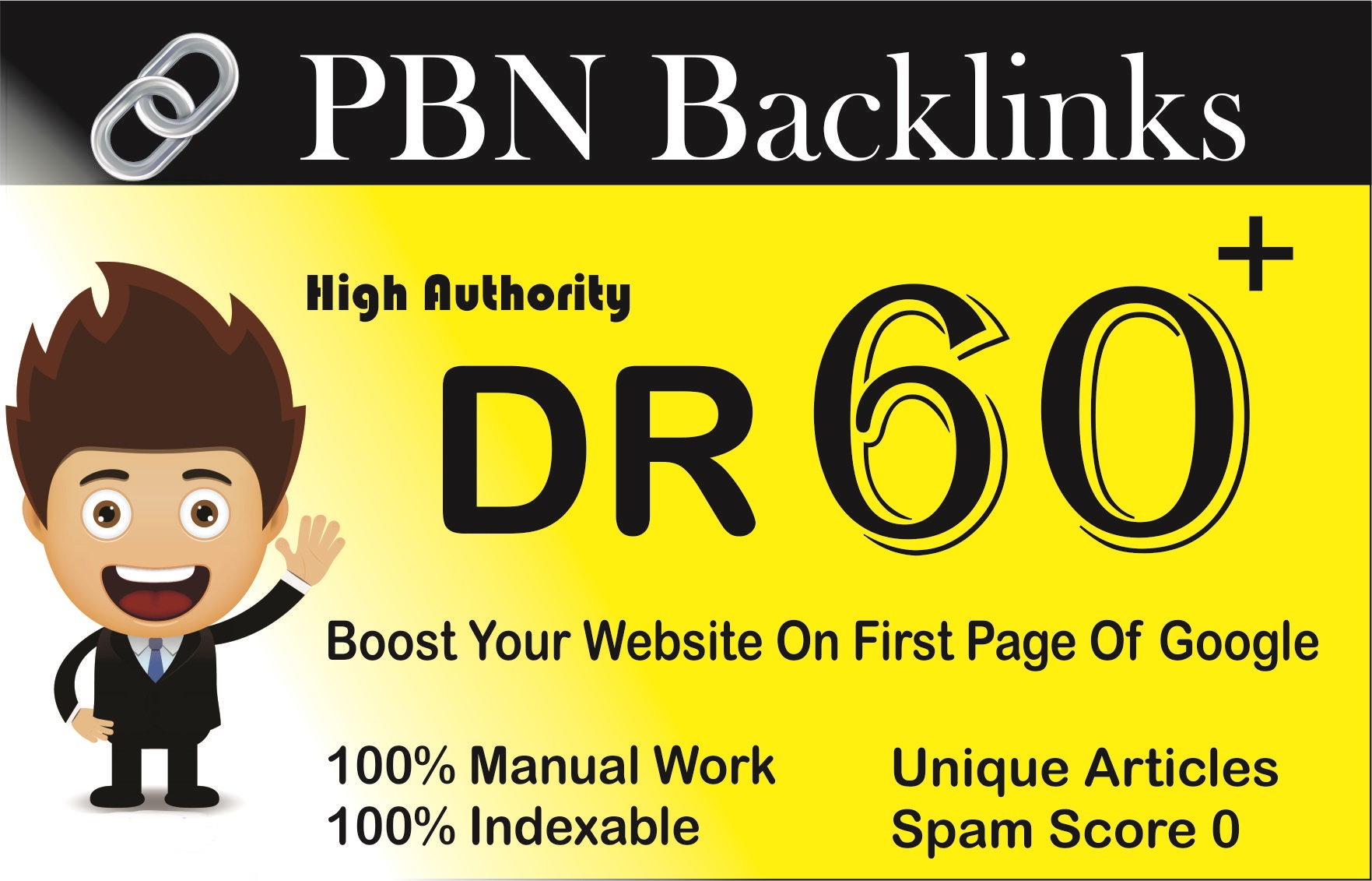 8 DR 60+ homepage permanent PBN Backlink