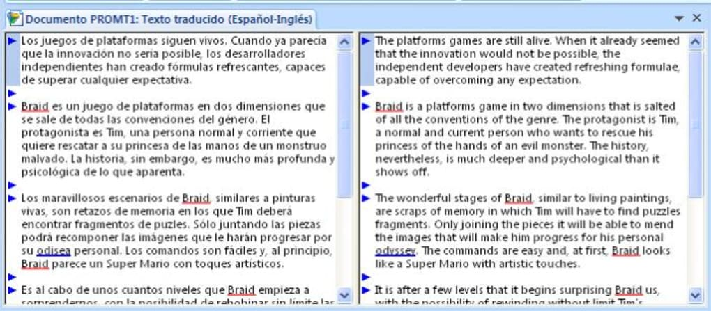 I will translate texts from English to Spanish.