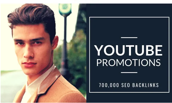I will do your youtube promotion by SEO backlinks