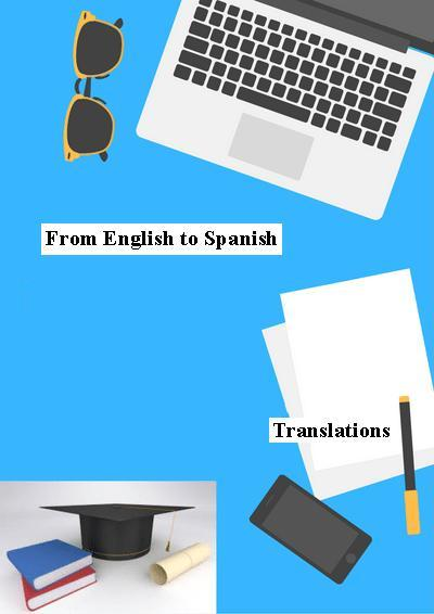 Translations from English to Spanish