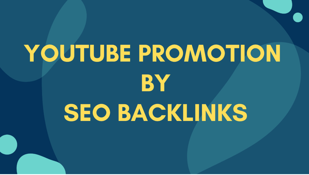 I will do fast youtube video SEO promotion backlinks