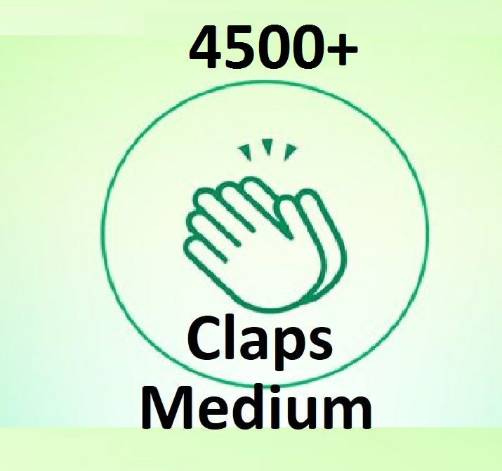 Provide You 4500+ Worldwide Medium claps Article