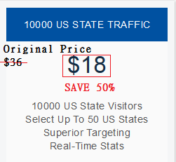 10000 Real US State Traffic To Your Website.