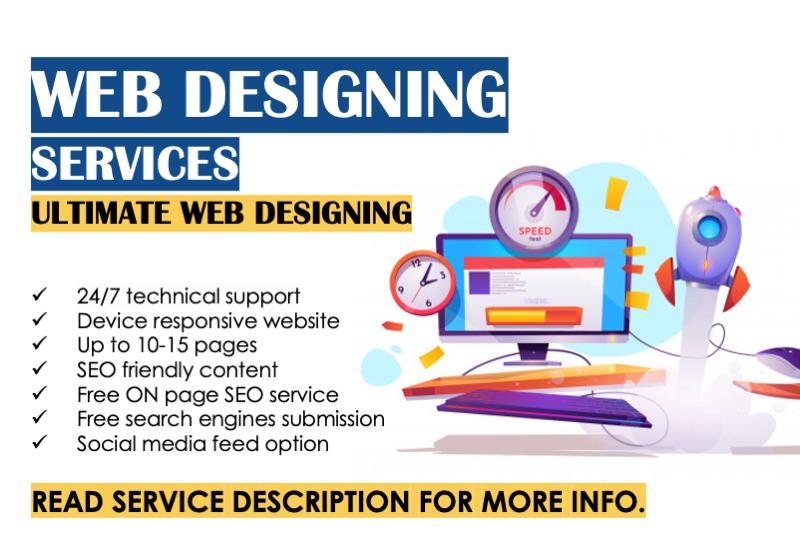WordPress Static Website Designing Services