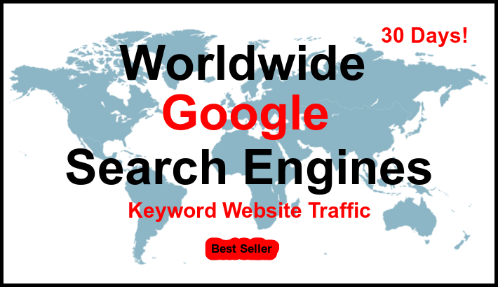 Quality Google Organic Keyword Website Traffic