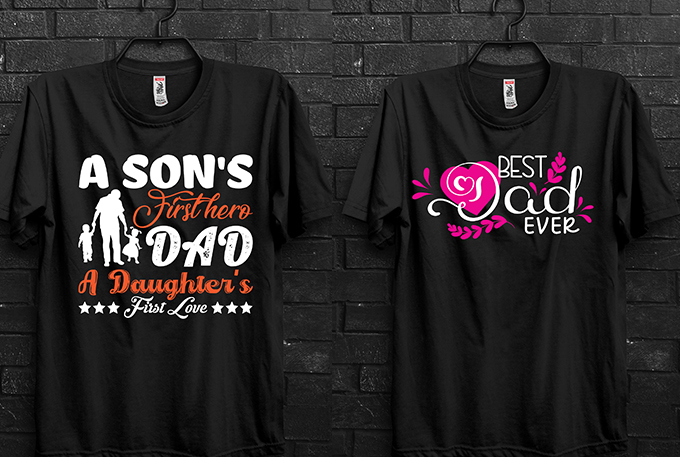 I will design awesome typography t shirt